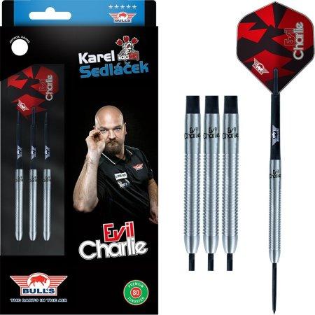 Bull's NL Šipky Steel Karel Sedláček - Evil Charlie - 80% - 22g