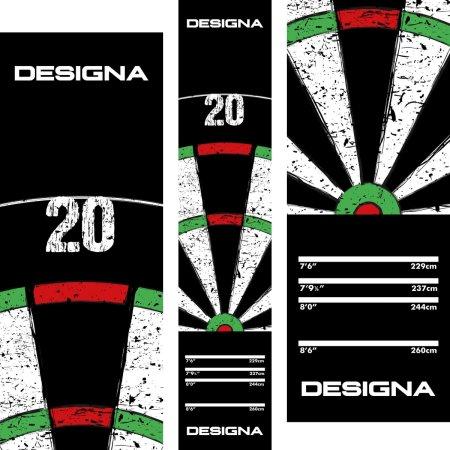 Designa Dart Mat - Koberec k terči - Dartboard 20