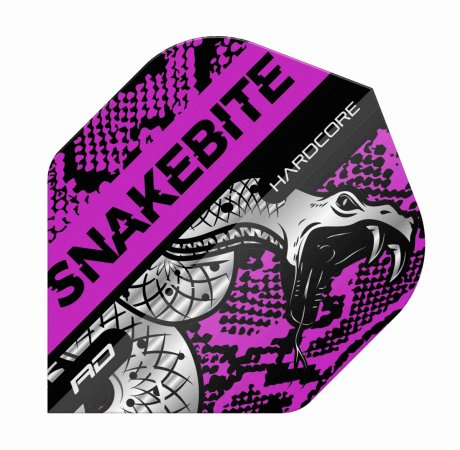 Red Dragon Letky Peter Wright Snakebite Hardcore - Coiled Purple RF6566
