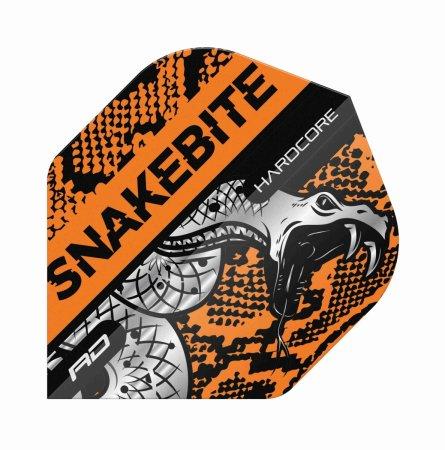 Red Dragon Letky Peter Wright Snakebite Hardcore - Coiled Orange RF6565
