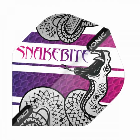 Red Dragon Letky Peter Wright Snakebite Ionic - Coiled Purple RF6564