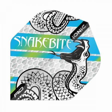 Red Dragon Letky Peter Wright Snakebite Ionic - Coiled Blue RF6562