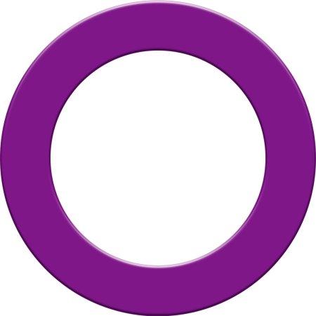 Designa Surround - kruh kolem terče - Purple