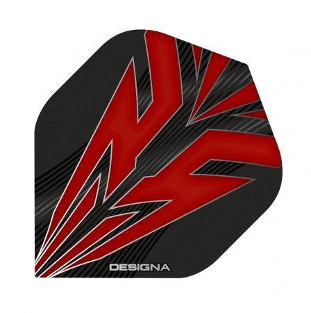 Designa Letky Mako - Red F3203