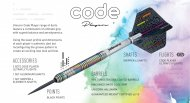 Unicorn Šipky Steel Code DNA - Michael Smith - 22g