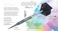 Unicorn Šipky Steel Code DNA - Jeffrey de Zwaan - 25g