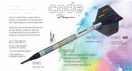 Unicorn Šipky Code DNA - James Wade - 20g