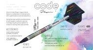 Unicorn Šipky Code DNA - Chris Dobey - 20g