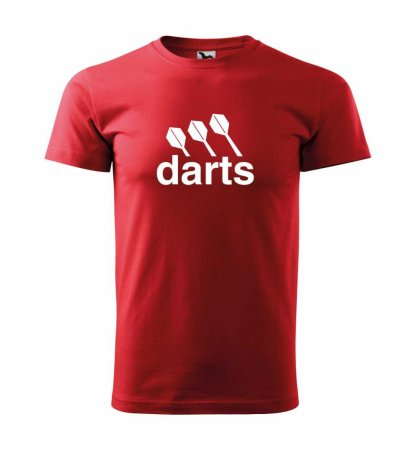 Malfini Triko s potiskem - Darts center - red - XS