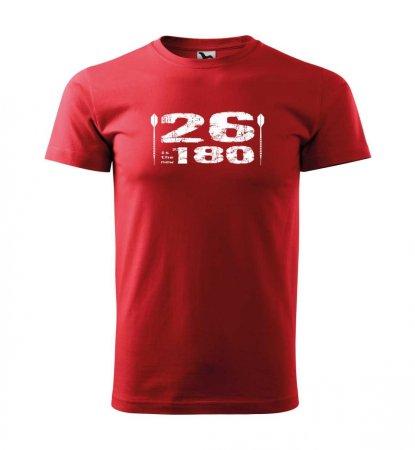 Malfini Triko s potiskem - 26 - red - XL
