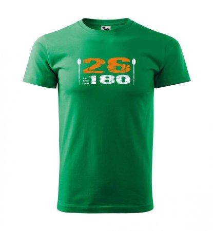 Malfini Triko s potiskem - 26 - green - 3XL