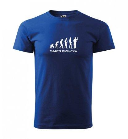 Malfini Triko s potiskem - Darts Evolution - blue - S