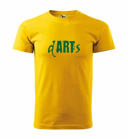 Malfini Triko s potiskem - Art - yellow - S