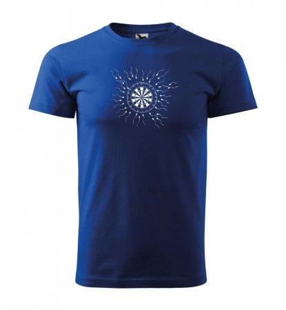 Malfini Triko s potiskem - Motiv 9 - blue - S