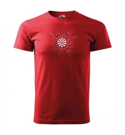Malfini Triko s potiskem - Motiv 9 - red - S