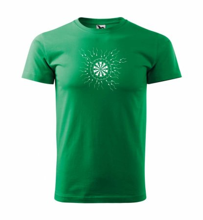 Malfini Triko s potiskem - Motiv 9 - green - S