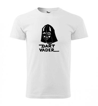 Malfini Triko s potiskem - Dart Vader - white - XS
