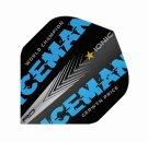Red Dragon Letky Gerwyn Price Iceman - World Champion - Blue RF6579