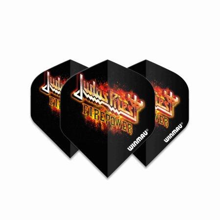 Winmau Letky Rock Legends - Judas Priest Flaming Logo - W6905.216