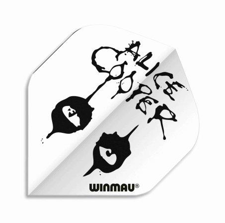 Winmau Letky Rock Legends - Alice Cooper White - W6905.211