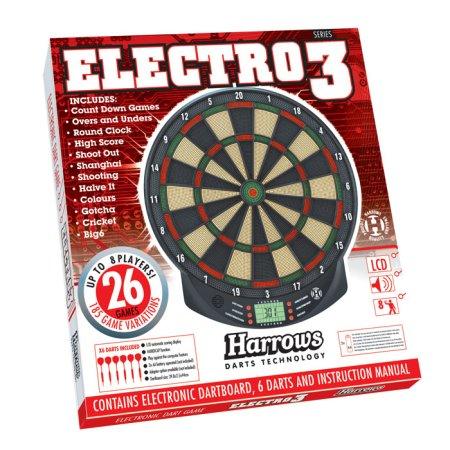 Harrows Elektronický terč Electro 3 - poškozená krabice