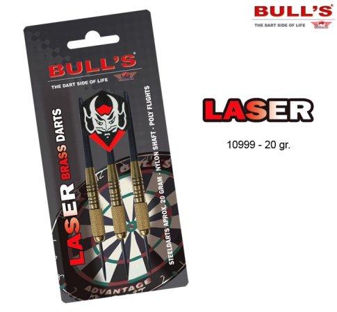 Bull's Šipky Steel Laser - 20g - 10999