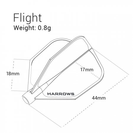 Harrows Letky CLIC - white X6020
