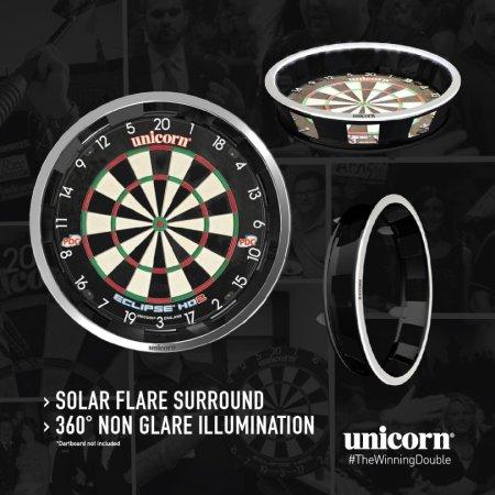 Unicorn Solar Flare Ultimate Surround - osvětlení sisalového terče