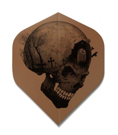 Designa Letky Headstone Skull F1865
