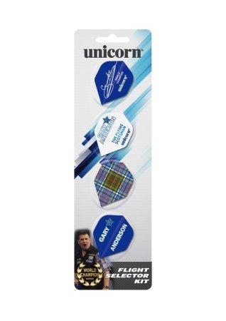Unicorn Sada letek Flight Selector Kit - Gary Anderson