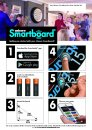 Unicorn Sisalový terč Smartboard - s aplikací počítání bodů - Bluetooth