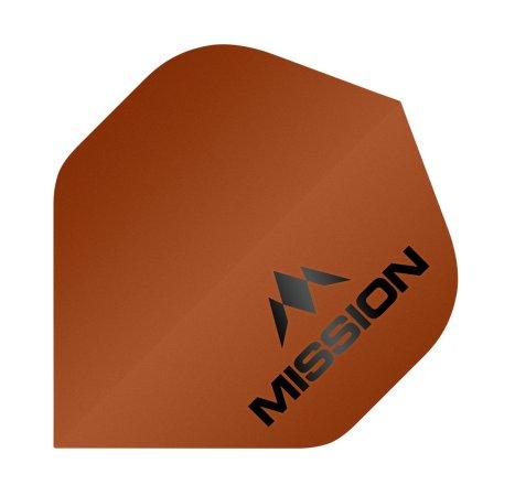 Mission Letky Logo - Matt Orange F1961