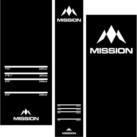 Mission Dart Mat - Koberec k terči - gumový - Pro Level