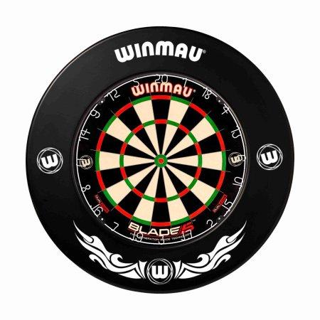 Winmau Surround - kruh kolem terče - Black Xtreme