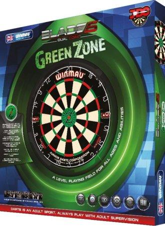 Winmau Sisalový terč Green Zone Blade Dual Core