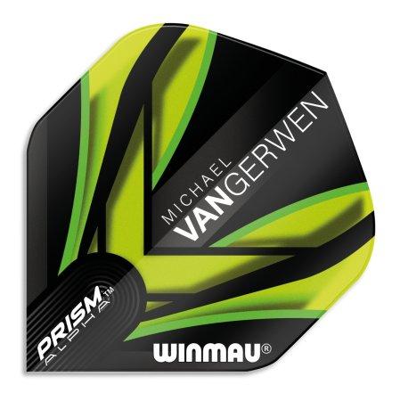 Winmau Letky Prism Alpha - Michael van Gerwen - Black and Green W6915.145