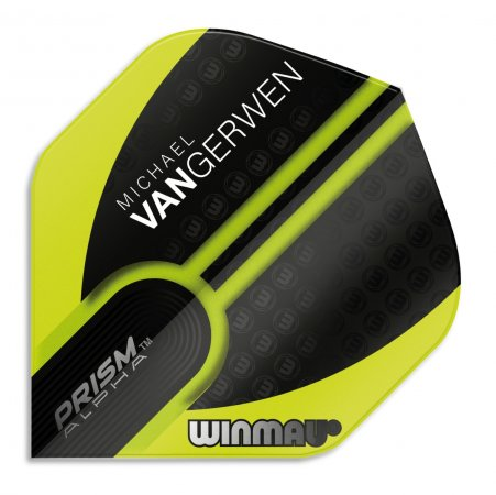 Winmau Letky Prism Alpha - Michael van Gerwen - Green and Black W6915.144