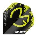 Winmau Letky Mega Standard - Michael van Gerwen - Green and Black W6900.234