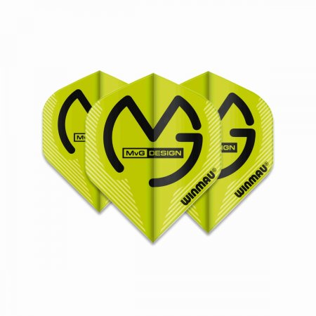 Winmau Letky Mega Standard - Michael van Gerwen - Green W6900.233