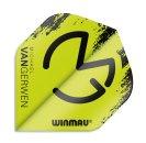 Winmau Letky Mega Standard - Michael van Gerwen - Black and Green W6900.232
