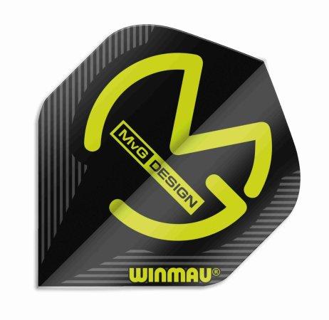 Winmau Letky Mega Standard - Michael van Gerwen - Black W6900.231