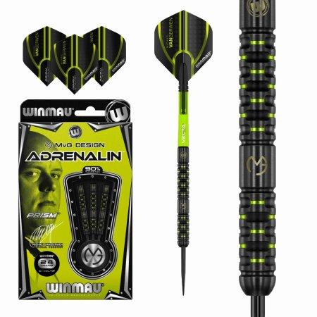 Winmau Šipky Steel Michael van Gerwen - Adrenalin - 24g