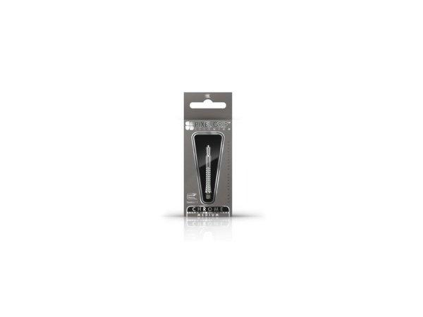 Target - darts Násadky Pixel Titanium Chrome - medium