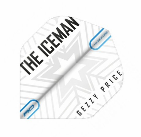 Red Dragon Letky Gerwyn Price Hardcore - Iceman Snowflake RF6477