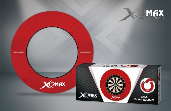 XQMax Darts Surround - kruh kolem terče - Red