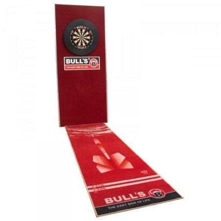 Bull's Dart Mat '180' - Koberec k terči - Red