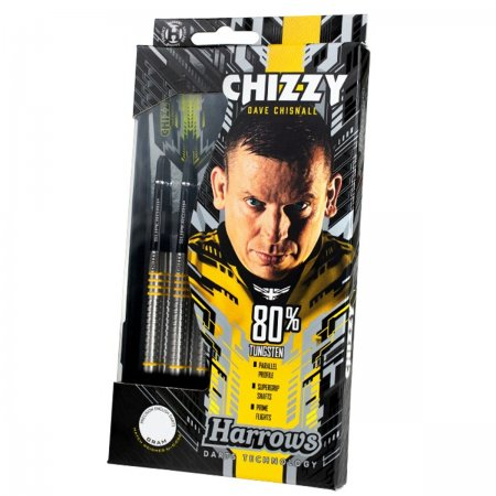 Harrows Šipky Steel Chizzy 80% - 24g