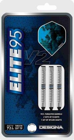 Designa Šipky Elite 95 V2 - M3 - 20g