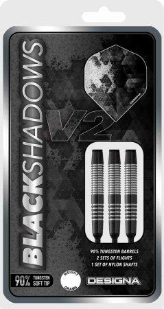 Designa Šipky Black Shadow V2 - M3 - 20g