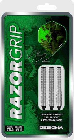 Designa Šipky Razor Grip V2 - M1 - 20g